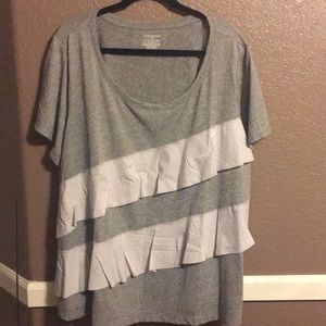 Lane Bryant Embellished T-Shirt   VERY NEW!